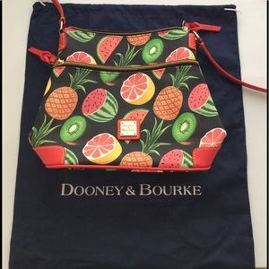 Dooney & Bourke Tropical Fruits Tote 🍉🍍🍋🥝